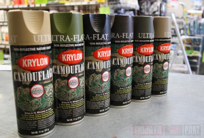 Krylon-Camouflage