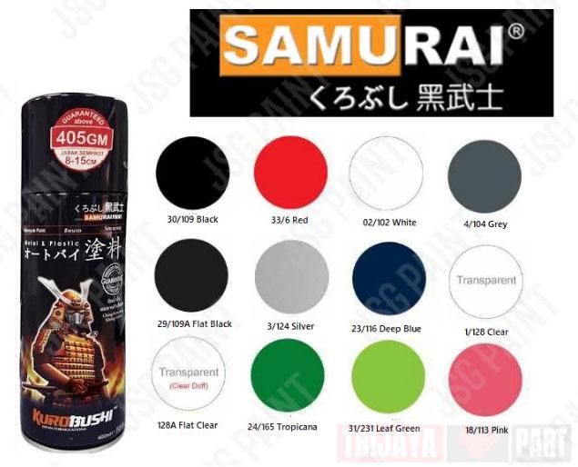 Samurai-paint